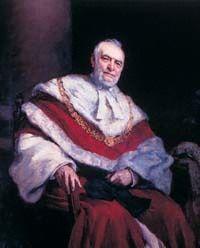 Portrait of Palles, in TCD