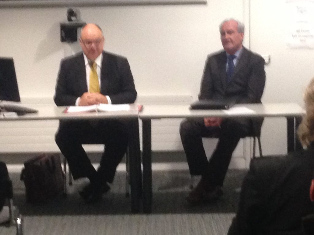 Justice Brown and Ambassador Vickers
